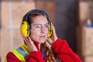 protezione occhi e orecchie