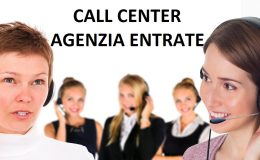 call center agenzia entrate